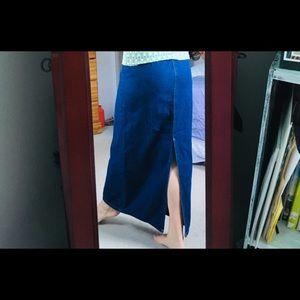 Eddie Bauer Skirts - EDDIE BAUER//CUTE JEAN SKIRT💙